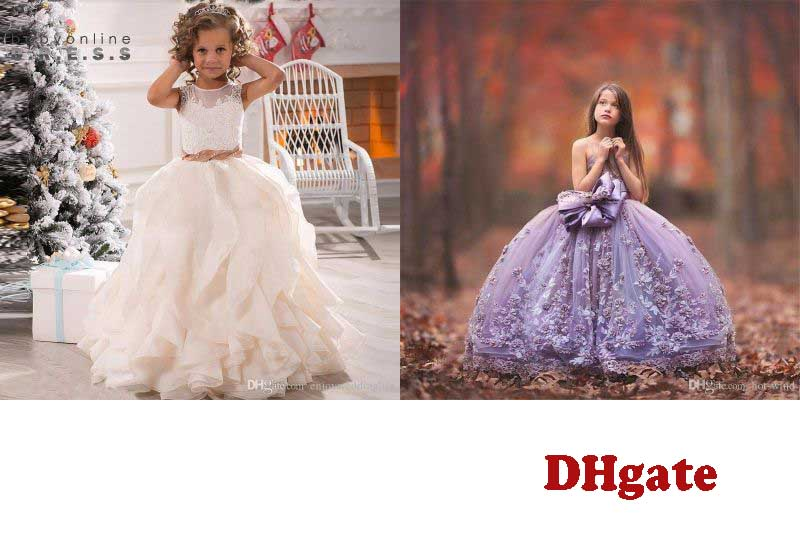 12 Best Selling Flower Girls Dresses