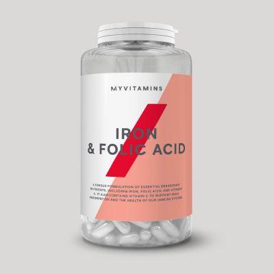 Folic Acid and Iron tablets