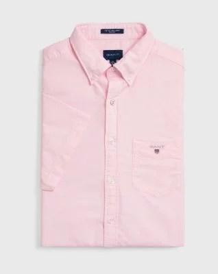 GANTRegular Fit Short Sleeve Oxford Shirt