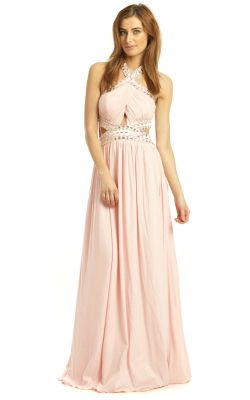 IKRUSH Polly Evening Maxi Dress PINK