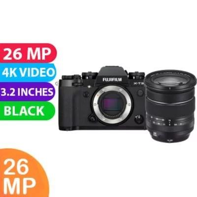 New Fujifilm X-T3 Kit 16-80 Digital Camera Black Noir