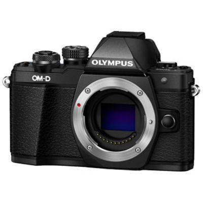 New Olympus OM-D E-M10 MK II (Body) Kit Digital Cameras Black
