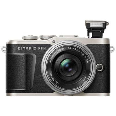 New Olympus PEN E-PL9 Kits (14-42EZ) Digital Camera Black