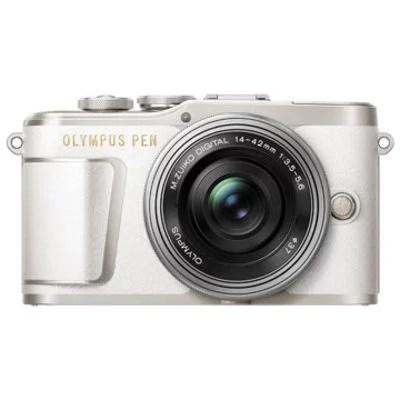 New Olympus PEN E-PL9 Kits (14-42EZ) Digital Camera White