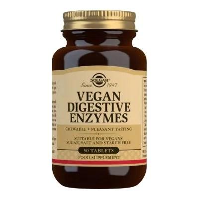 SOLGAR - Vegan Digestive Enzymes