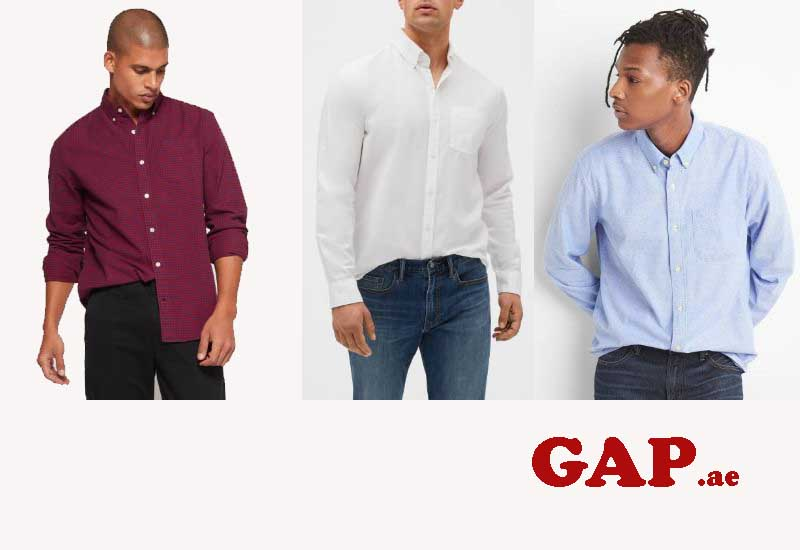 10 Best Selling Mens Dress Shirts from GAP