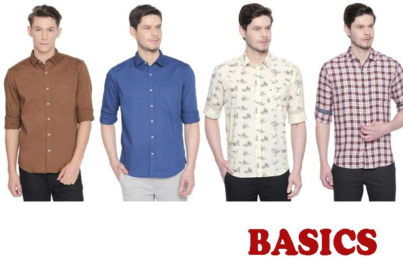 18 Best Selling Long sleeves Shirts from BASICS