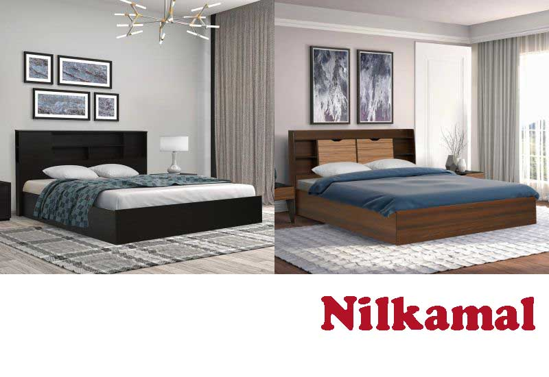 8 Awesome King Size Bed from Nilkamal Furniture