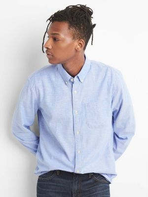 Lived-In Stretch Oxford Shirt 2