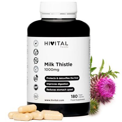 MILK THISTLE 1000 MG | 180 VEGAN CAPSULES