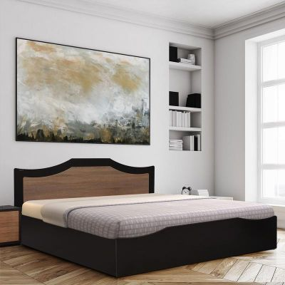 Nilkamal Willy King Bed (Wenge/Oak)