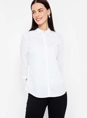 VAN HEUSEN Pinstriped Full Sleeves Shirt