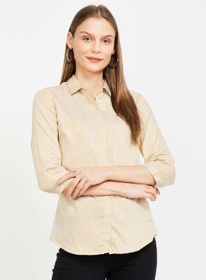 VAN HEUSEN Striped Three-quarter Sleeves Shirt