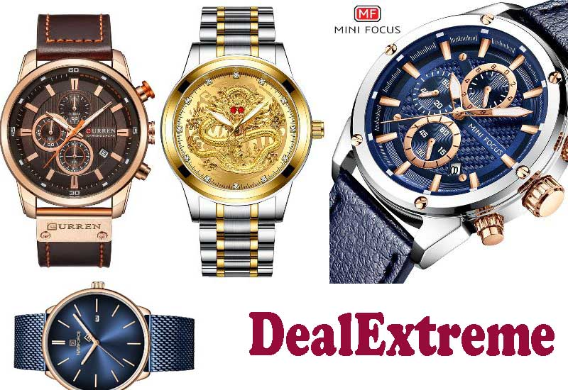 12 Best Selling Quartz Wristwatches from DealExtreme