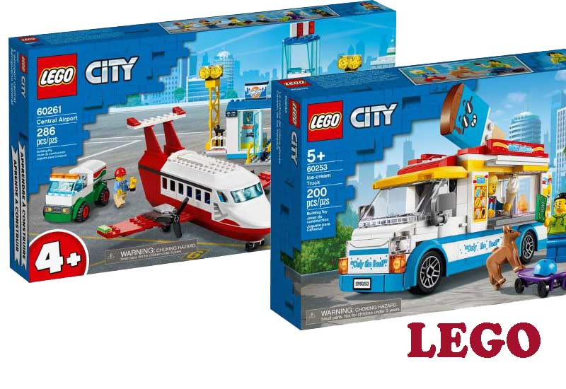 17 Best Selling City Themes from LEGO