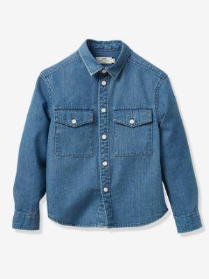 Boy's denim shirt- denim blue