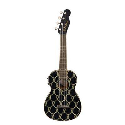 Fender Billie Eilish Ukulele, Walnut Fingerboard, Black