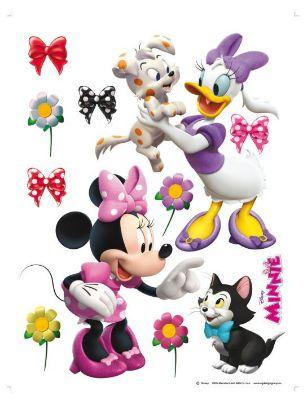Giant Minnie and Daisy Disney animals stickers