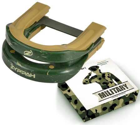 Zyppah Military - Green Camouflage Hybrid Design – Guaranteed to Stop the Snoring