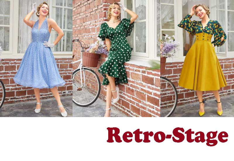 15 Best Selling Retro Dresses from Retro-Stage