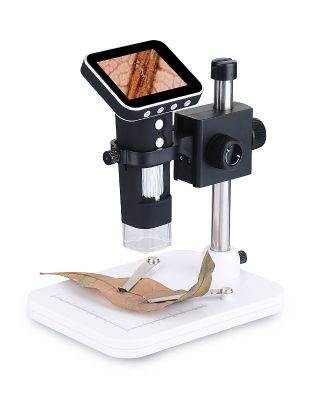 Digital Microscope with Screen Dm1 Digital Microscope with 3.5 Inch Display