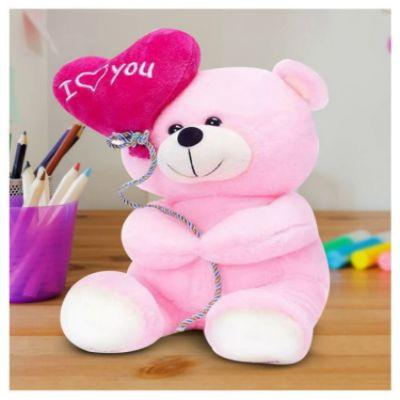 I Love You Balloon Teddy Bear