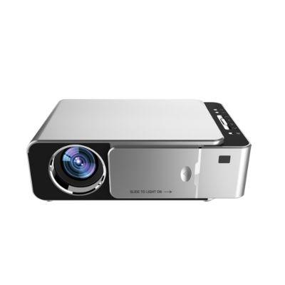 Portable Mini LED Cinema Video Digital HD Home Theater Projector Beamer Projector EU Plug