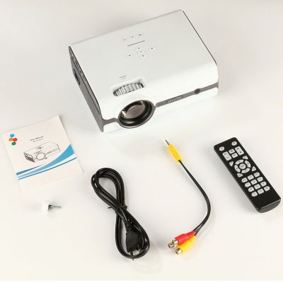 U45 Mini Projector Watching Movie Portable Home Theater Entertainment Supports 1080P HD Display white_British regulations
