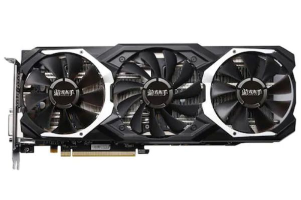 Yeston RX580 8G D5 PA GPU 256bit DDR5 Graphics Card - Black 4G