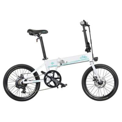 FIIDO D4S Folding Moped Electric Bike Shimano 6-speed Gear Shifting City Bike Commuter Bike 20-inch Tires 250W Motor Max 25km/h 10.4Ah Battery up to 80KM Mileage Range - Black