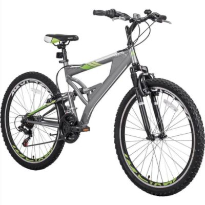 Merax 26 Inch Mountain Bike with Full Suspension 21-Speed Aluminum Frame Bicycle