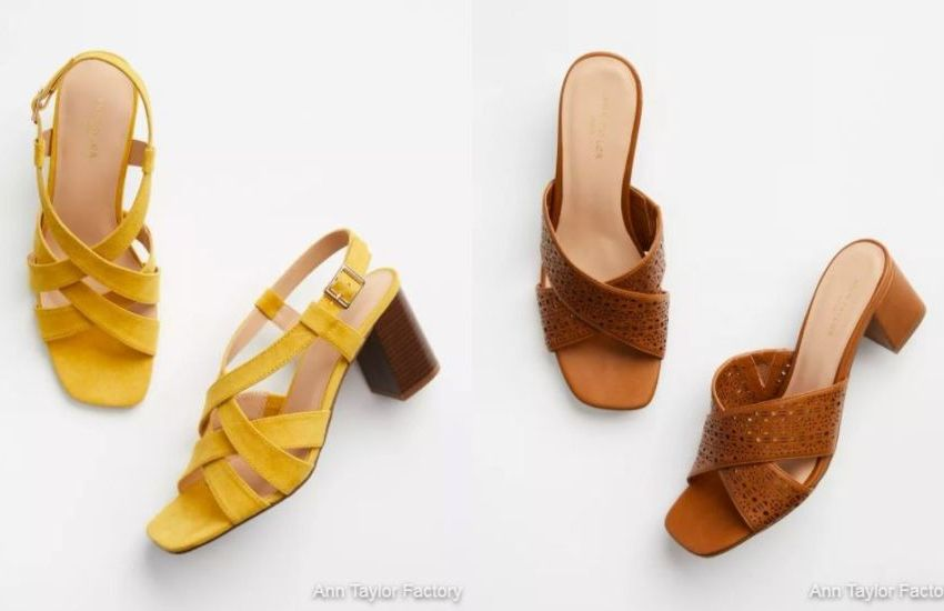 7 Best Selling Womens Sandals from Ann Taylor