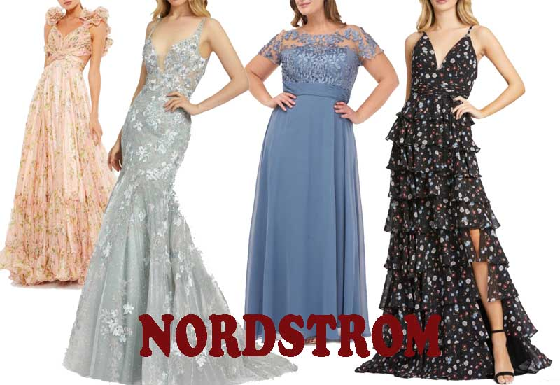 10 Best Floral Chiffon Gown from NORDSTROM