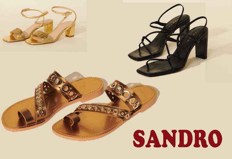10 Best Selling Womens Sandals from SANDRO
