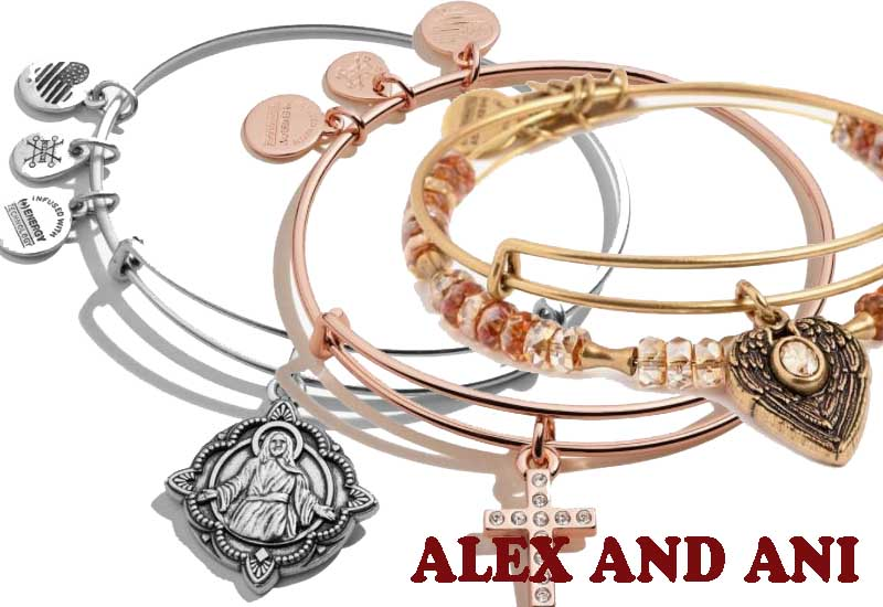 10 Faith and Hope Charm Bangles from ALEX AND ANI