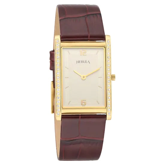 18 Karat Solid Gold Analog Watch 4