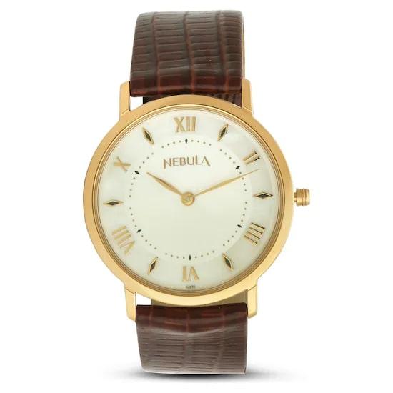 18 Karat Solid Gold Analog Watch 7