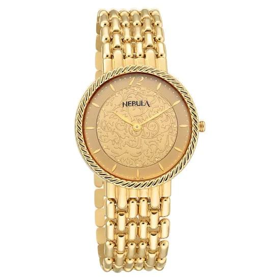 18 Karat Solid Gold Analog Watch 8