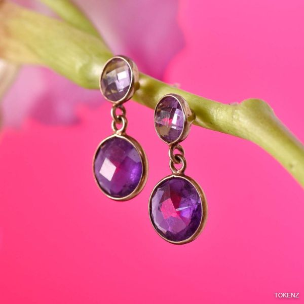 Adorable Amethyst Earrings