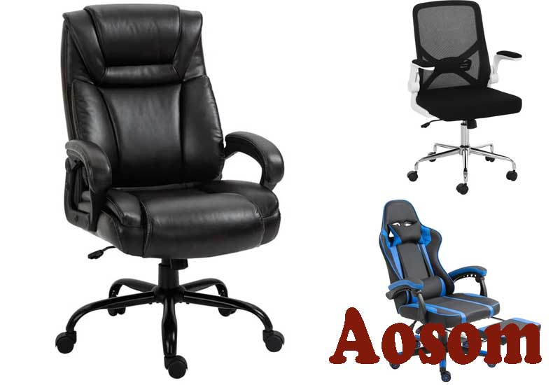 10 Best Selling Office Chairs from Aosom