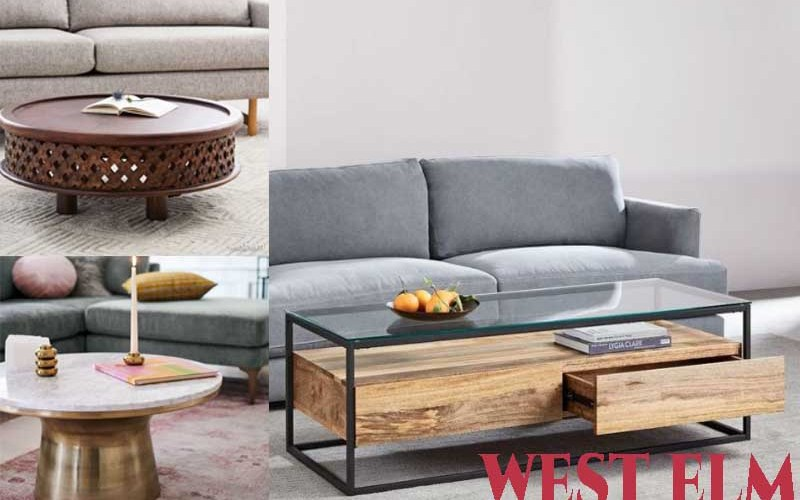 14 Best Selling Coffee Tables from west elm