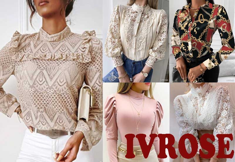 16 Best Selling Blouses and Shirts from IVROSE