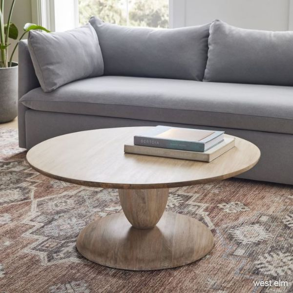Winona Round Pedestal Coffee Table