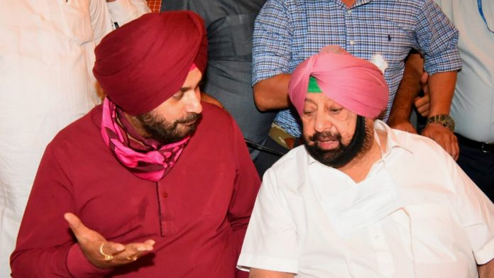 siddhu and captain amrinder's fight getting bigger in punjab