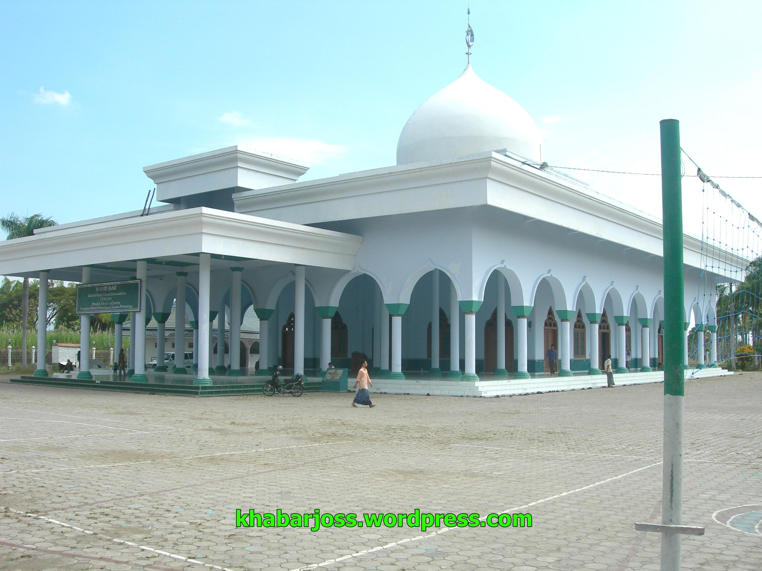 Gambar Masjid Gontor