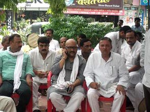 21-08-14 Gaon Bijli Dharna for web
