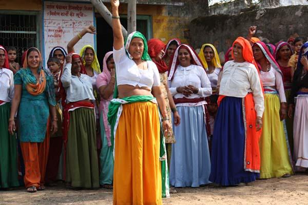 Rajkala Devi, the first woman Sarpanch of Hingwahera Gram Panchayat in Rajasthan's Alwar District (UN Women Asia & The Pacific CC BY-NC-ND 2.0).