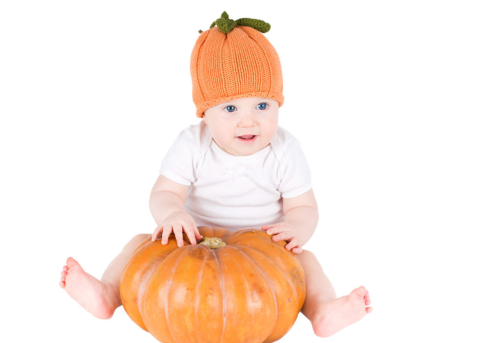 In this way, pumpkin is included in the diet of young children|khabar lazmi