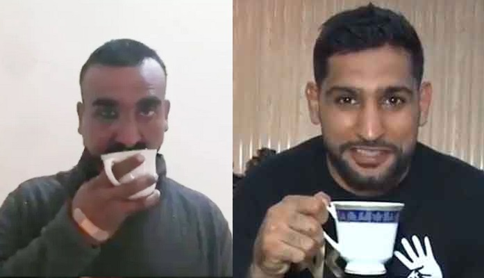 Boxer, Amir Khan, Abhinandan Varthaman, video, tea, fantastic tea