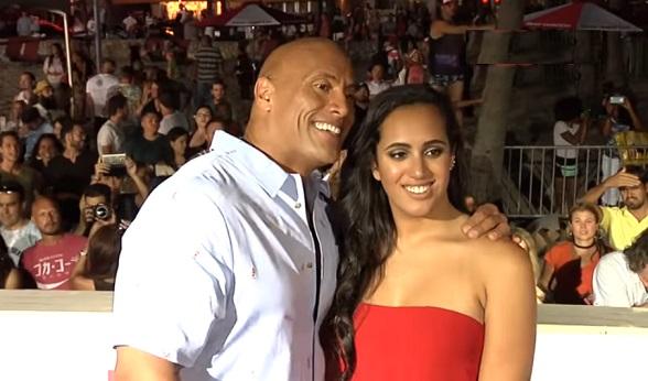 Simone Johnson, Dwayne 'The Rock' Johnson, Daughter, The Rock, WWE